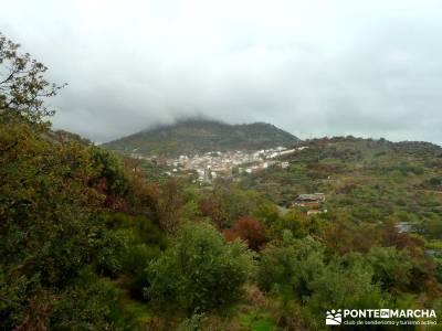 Senda Viriato; Sierra San Vicente; lozoya purgatorio robledondo camino sarria santiago